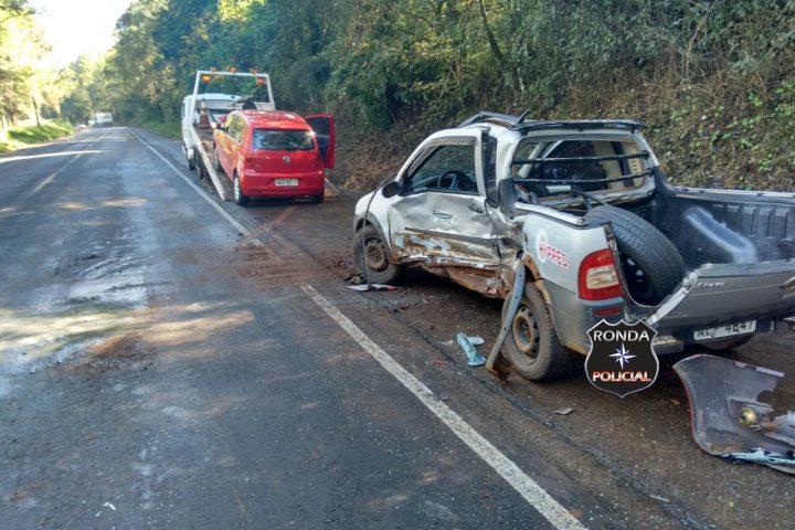 Motorista morre ao se envolver em grave acidente na BR-282