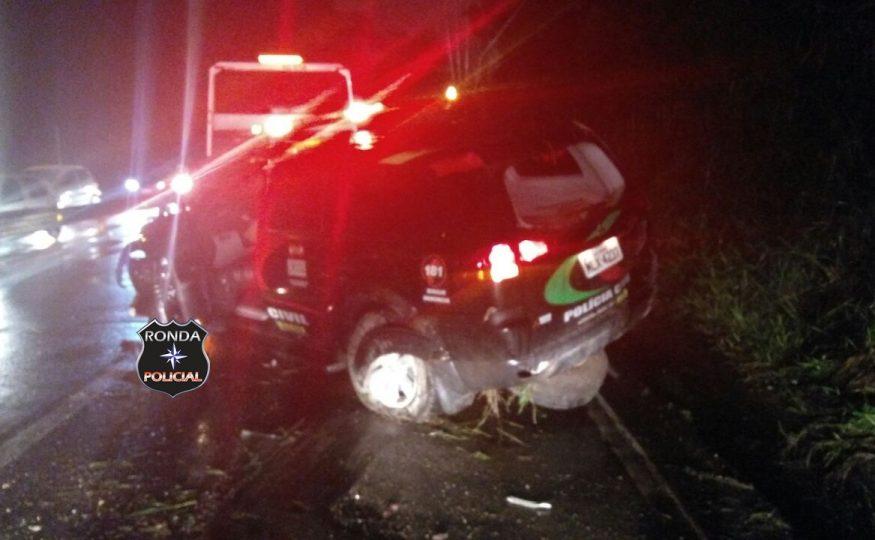 EM PRIMEIRA MÃO – Policiais Civis de Xanxerê e Ponte Serrada sofrem acidente no litoral catarinense