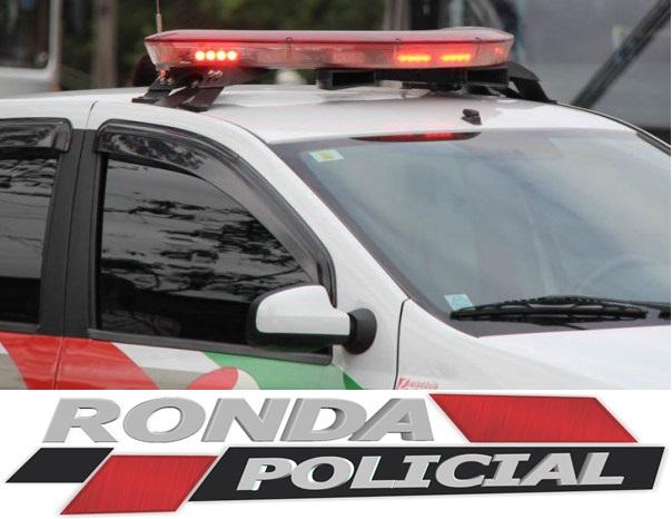 PM localiza no interior veículo furtado em Chapecó