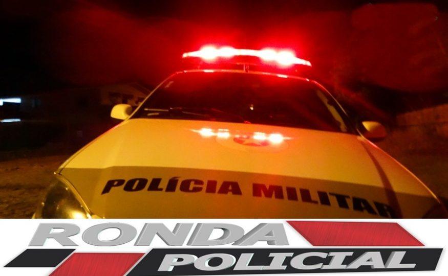 Jovem é assaltado em via pública em Xaxim