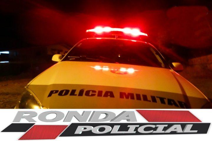 """Motorista é preso após efetuar """"cavalo de pau"""" no centro e fugir da PM"""