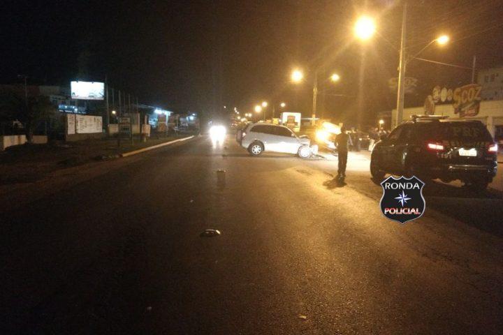 Veículo do Oeste se envolve em acidente no Vale do Itajaí