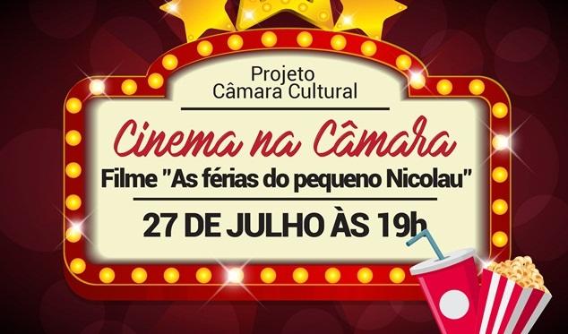 """Comunidade pode participar da Sessão de Cinema no Projeto """"Câmara e Você"""""""