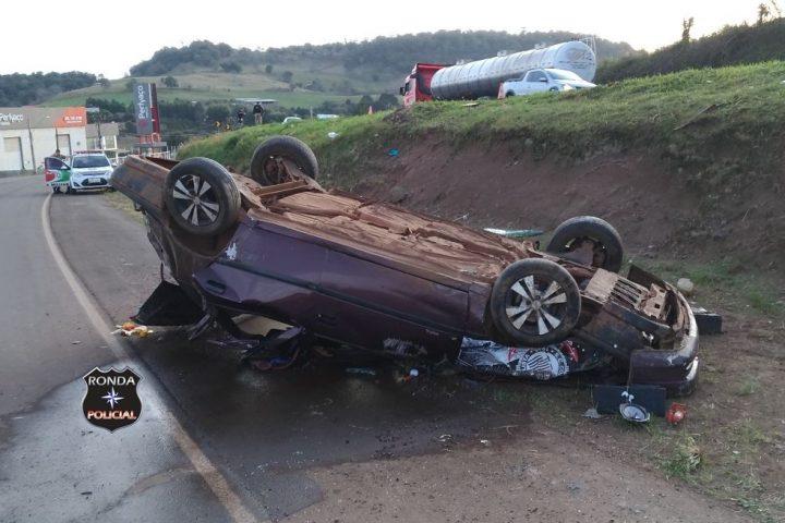 Identificadas vítimas de grave acidente na 282 em Cordilheira Alta