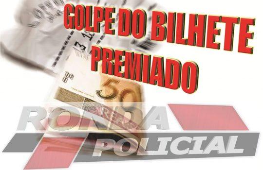 Mulher perde R$ 2 mil em golpe do bilhete premiado em Xaxim