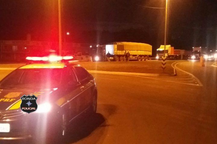 PRF registra bloqueio nas rodovias federais de SC