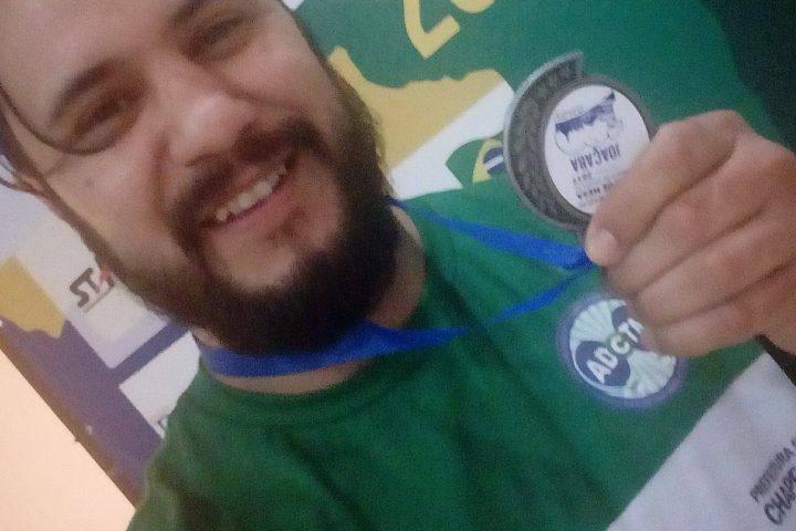 Xanxerense conquista bronze na Copa Brasil de Tênis de Mesa