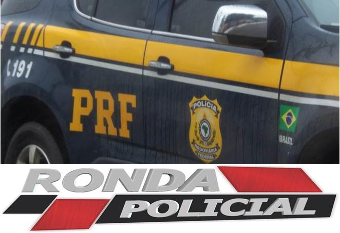 Homem com mandado de prisão por tráfico é detido pela PRF