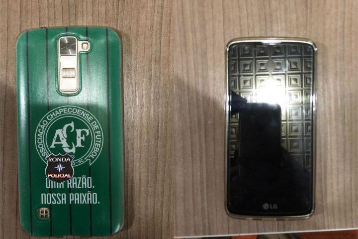 Foragido da justiça gaúcha é preso pela PM após furtar celular em comércio de Xaxim