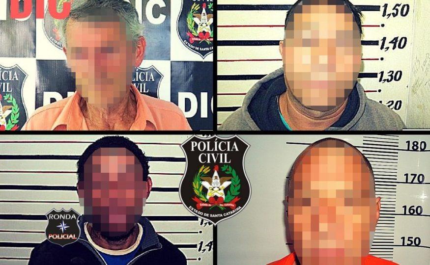 DIC cumpre quatro mandados de prisão expedidos pela justiça
