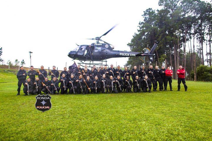 Agentes prisionais de Xanxerê participam de capacitação com equipe do SaerFron