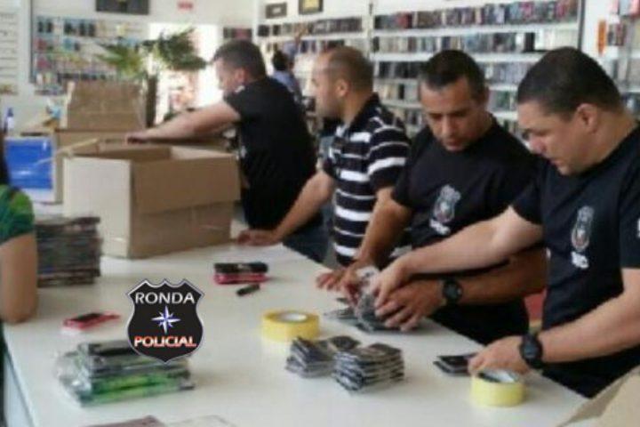 DEIC realiza operação e cumpre mandado de busca e apreensão em Chapecó