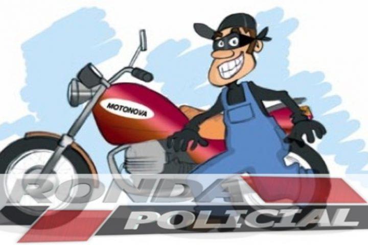 Furto de motocicleta é registrado no Bairro Alvorada em Xaxim