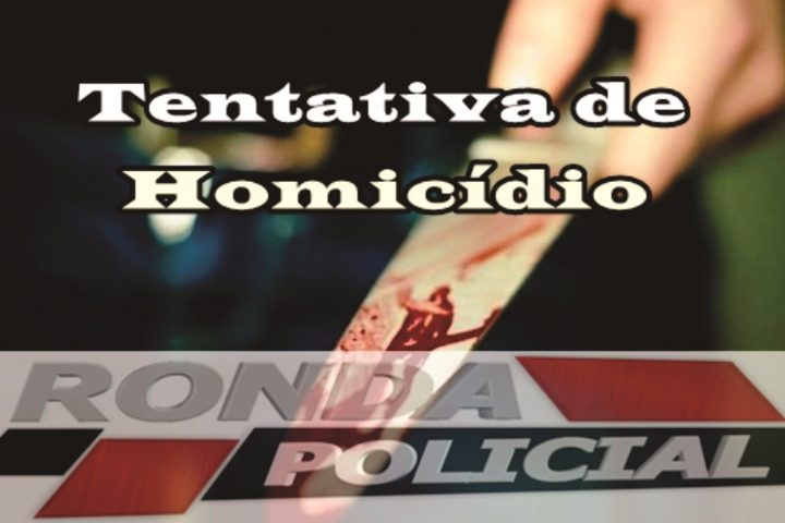 Dupla tentativa de homicídio é registrada no início da noite