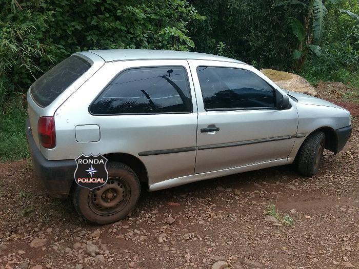 PM localiza no Santa Cruz veículo furtado