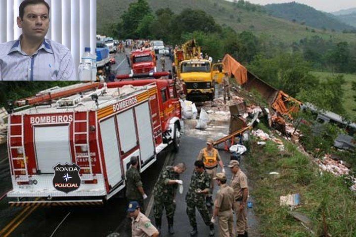 Polícia prende caminhoneiro condenado pela morte de 27 pessoas na BR-282