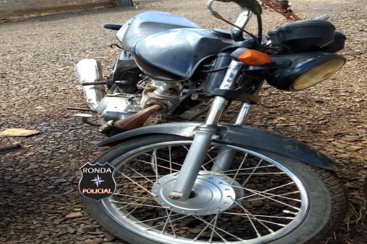 Polícia Rodoviária Estadual recupera em Bom Jesus motocicleta furtada no PR