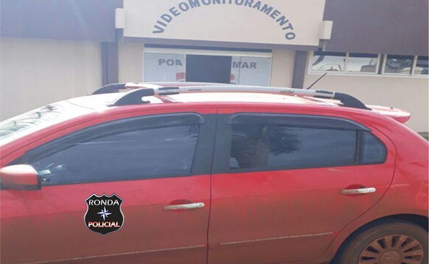 Adolescente se apropria do carro da mãe com chave reserva e fato gera grande mobilização policial em Abelardo Luz