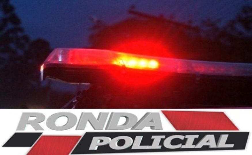 Motorista perde o controle e colide em trevo na SC-480 em Xanxerê