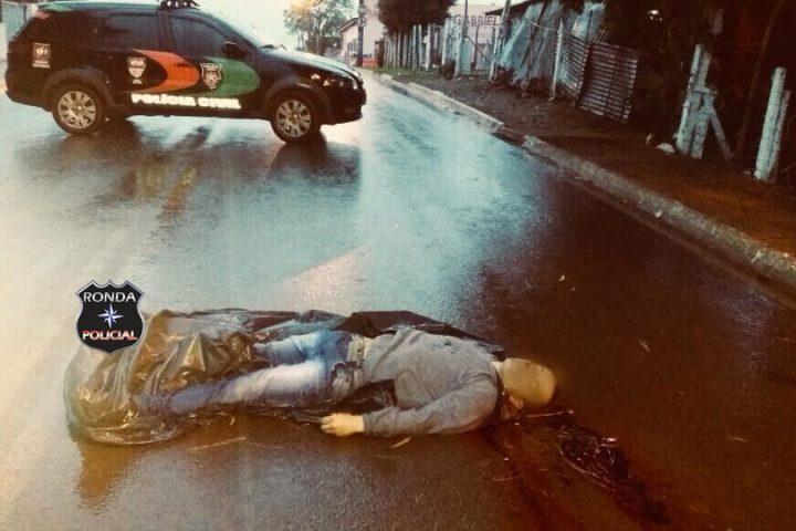 Homem é morto a tiros no Bairro Aparecida