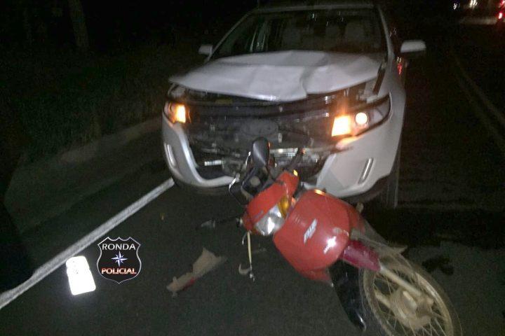 Motociclista morre em grave acidente durante a noite em Cordilheira Alta