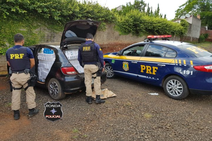 Ação conjunta entre PRF e Polícia Civil localiza depósito de cigarros contrabandeados