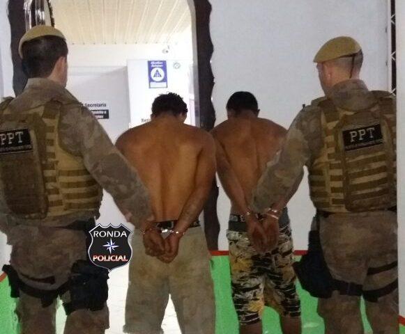 Após quatro horas de intensas buscas PM captura assaltantes de joalheria no interior de Xanxerê