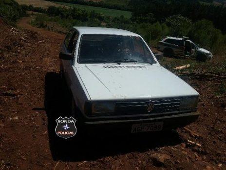 PM recupera veículo furtado em comunidade rural