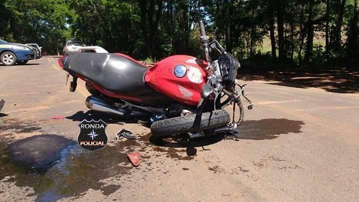 Jovem morre em grave acidente de moto na BR-282