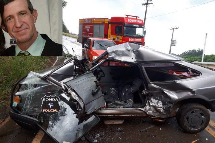 Vítima de grave acidente com caminhão de Xanxerê morre no hospital