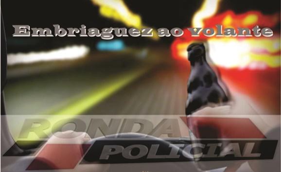 Motorista é preso por dirigir embriagado no centro de Faxinal dos Guedes