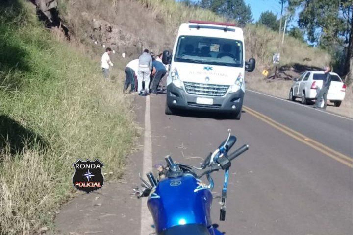 Motociclista morre em grave acidente na SC-157