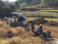 Identificada vítima de grave acidente na SC-155 em Bom Jesus