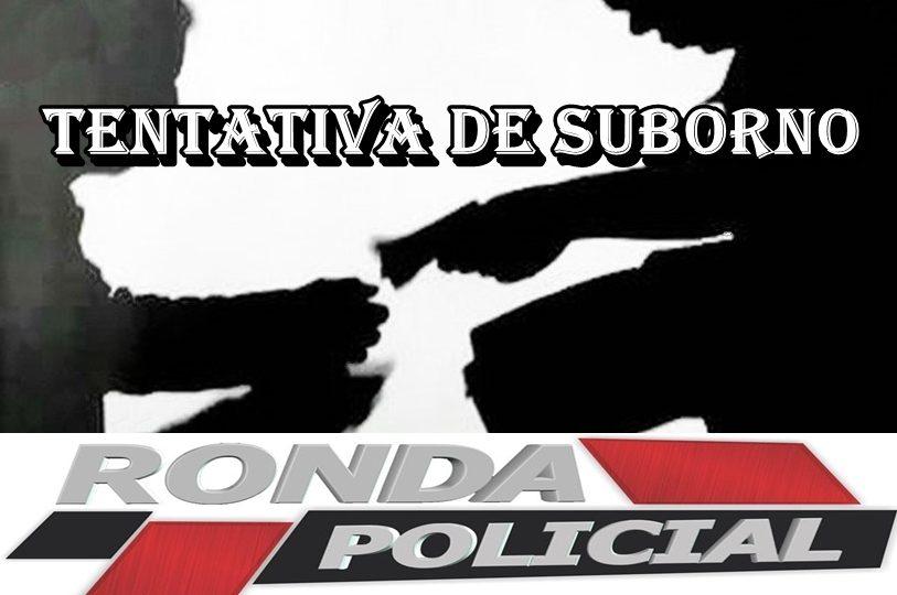 Caminhoneiro é preso ao tentar subornar policiais no Oeste