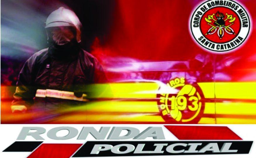 Corpo de Bombeiros combatem incêndio em empresa no Oeste