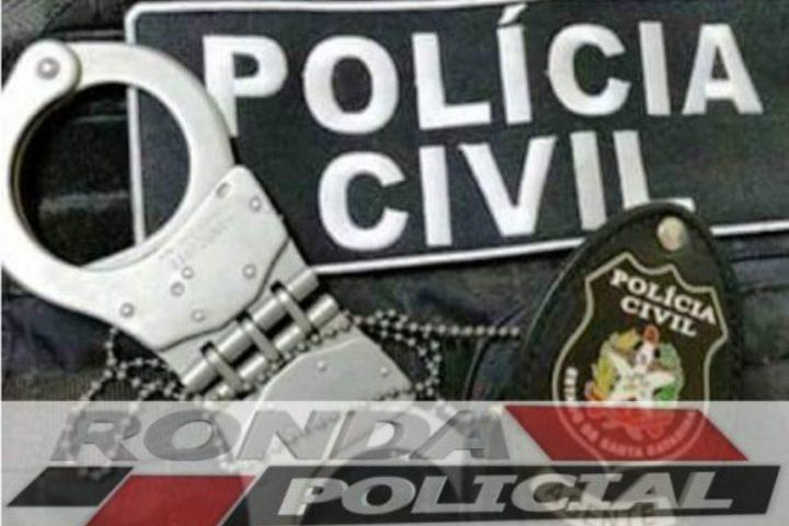 Polícia Civil cumpre mandado de prisão no Oeste