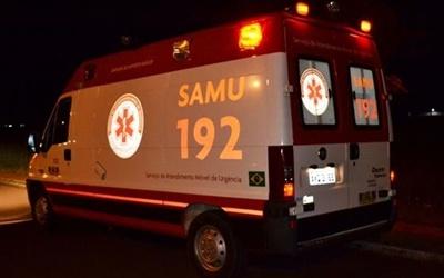 Jovem fica ferido em acidente de moto na paralela da 282