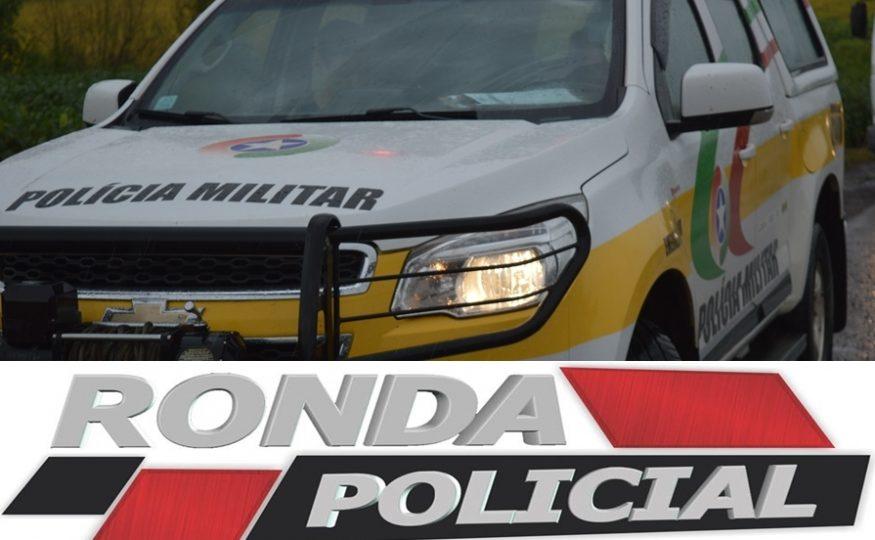 Colisão frontal entre carro e carreta é registrada na SC-157