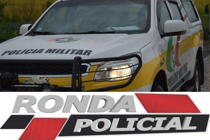 Acidente é registrado pela Polícia Militar Rodoviária Estadual na SC-157