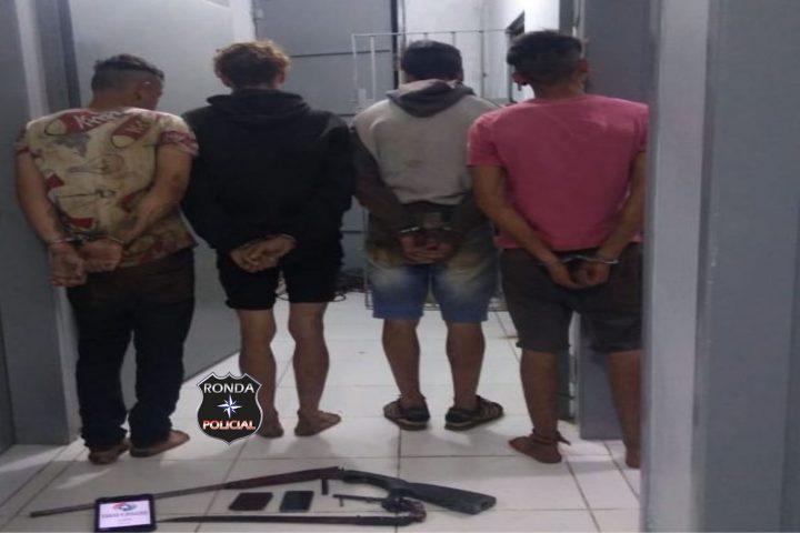 Quadrilha que baleou vigilante é presa em ação conjunta entre polícia civil e militar