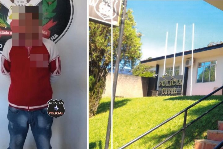 Polícia Civil prende homem condenado pela justiça