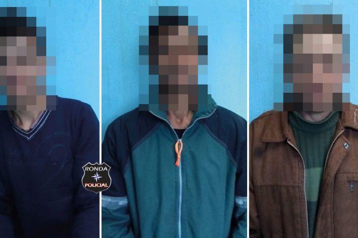 Três condenados pela justiça são presos em operação realizada pela Polícia Civil