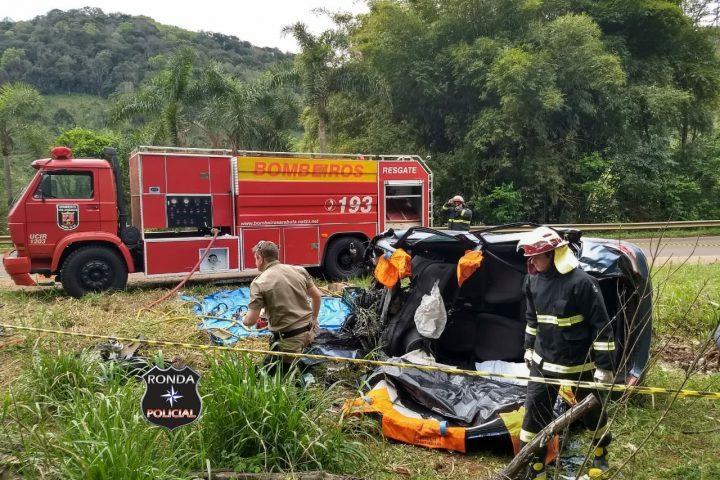 Sargento da PM morre em grave acidente de trânsito na manhã do domingo