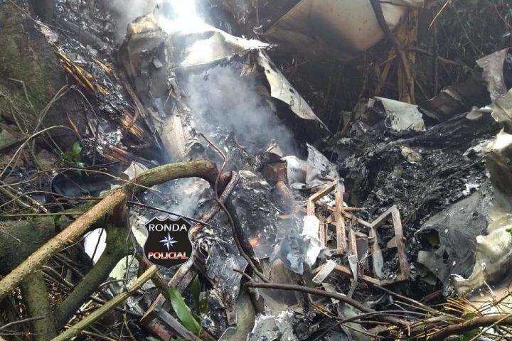 Avião que caiu em meio à mata na cidade de Ipumirim pertence a empresário chapecoense