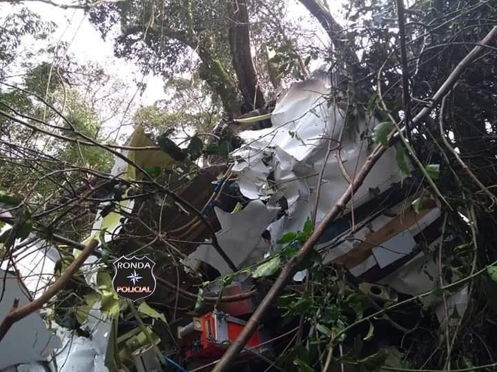 Identificada vítima da queda de avião na tarde do sábado em Ipumirim