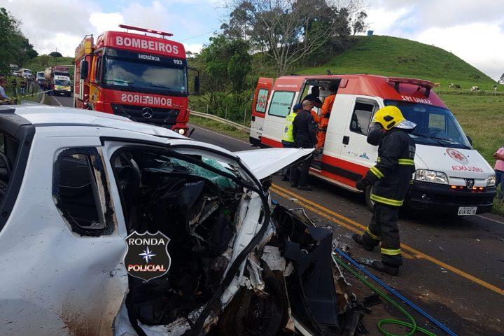 Adolescente vítima de grave acidente na SC-157 é transferido pelo SAER e SARA
