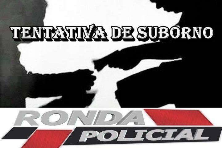 Caminhoneiro é preso em flagrante ao tentar subornar policiais com R$ 10