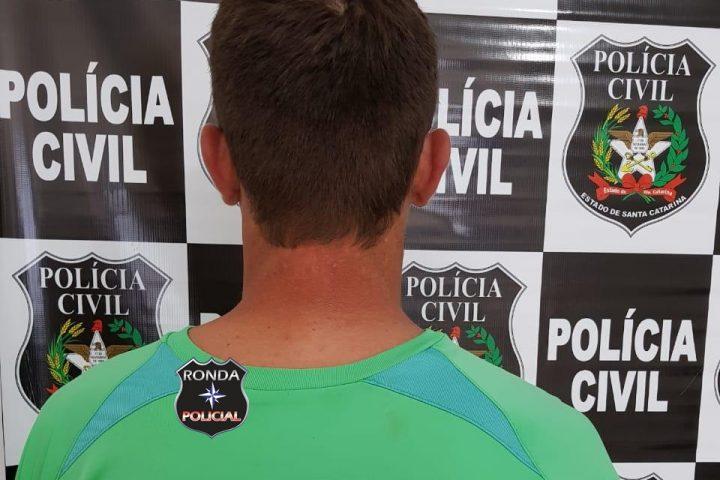 Homem condenado por agredir companheira é preso pela Polícia Civil