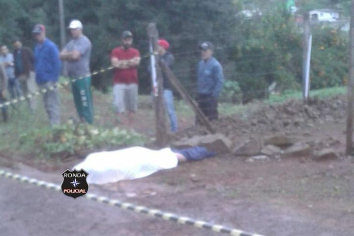 Polícia Civil de Xaxim esclarece assassinato de ex-vereador de Lajeado Grande