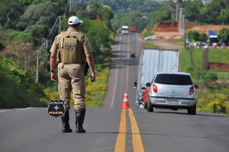 Acidente de trânsito é registrado na SC-163
